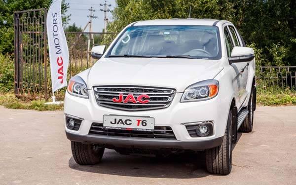 Jac t6 готов покорить российский рынок