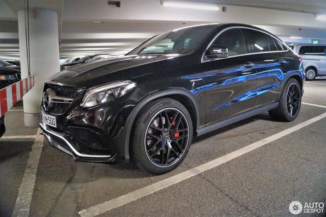 Презентована спортивная версия кроссовера Mercedes-Benz AMG GLE Coupe 63 S