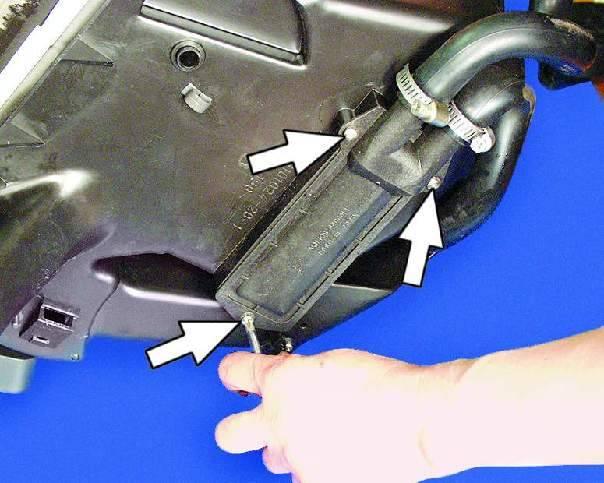 Как снять, заменить радиатор печки(отопитель) и краник ваз 2114