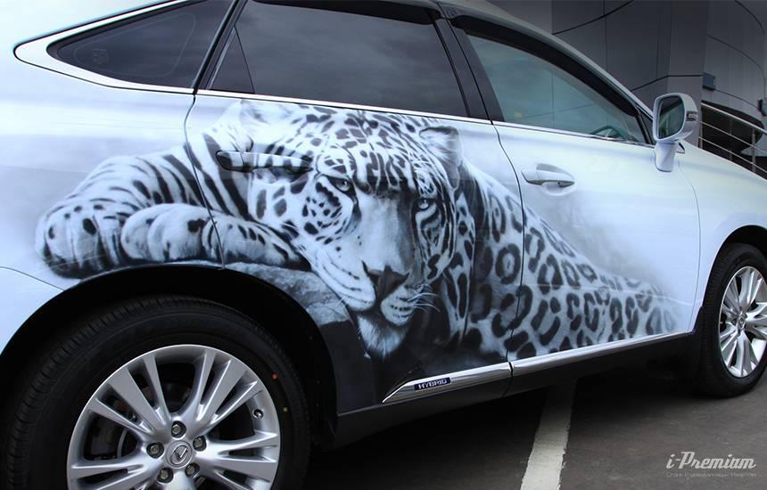 Аэрография на автомобилях: искусство или «просто круто»?