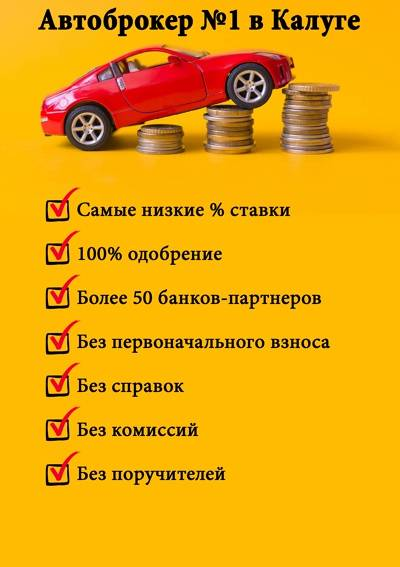 Автокредиты