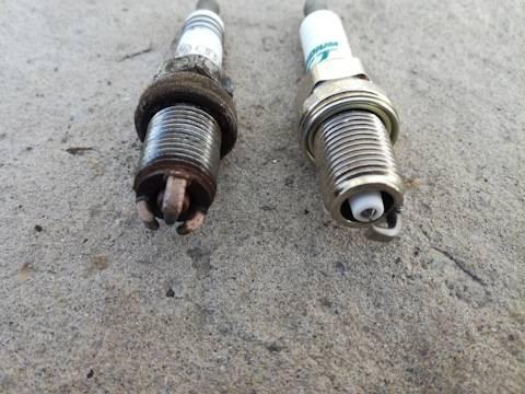 Замена свечей зажигания на шкода октавия а5 1.4 tsi и 1.6 mpi: видео инструкция, советы по выбору свечей