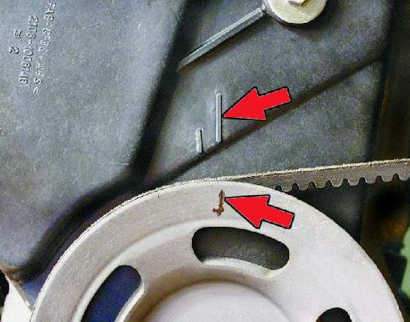 Процедура замены ремня грм ваз 2109 1,5 литра 8 клапанов