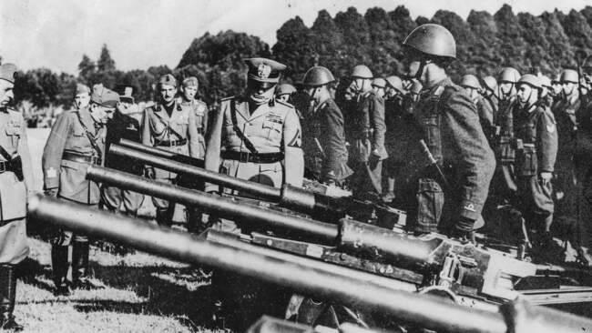 Оружие италии во второй мировой войне
