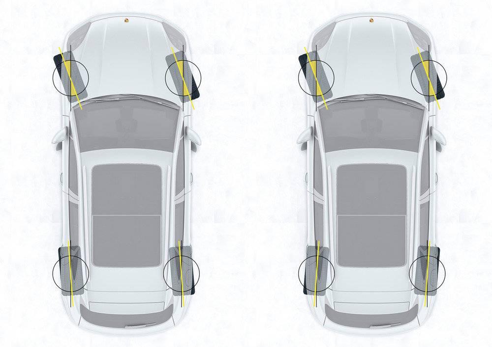 Задняя подруливающая подвеска автомобиля как одна из основных опций, обеспечивающих управляемость