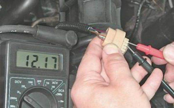 Как проверить проводку датчика распредвала