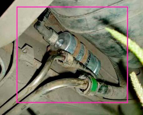 Топливный фильтр форд фокус 3 где находится - автопортал