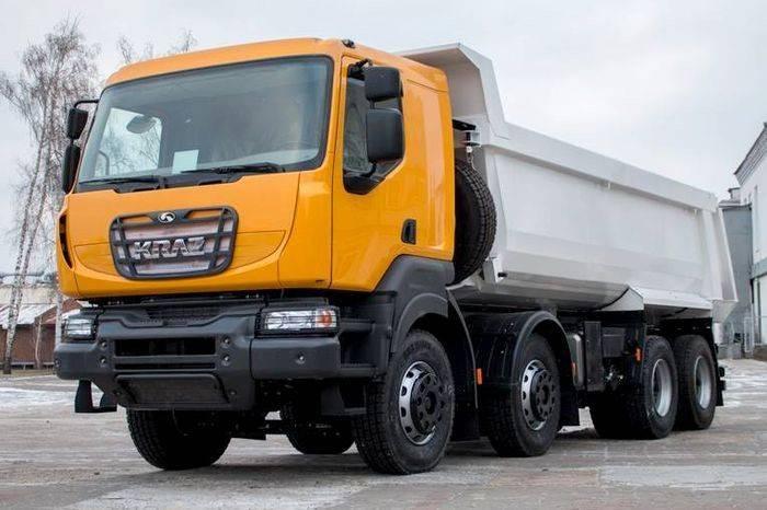 В Украине презентован новый самосвал КрАЗ-7133C4