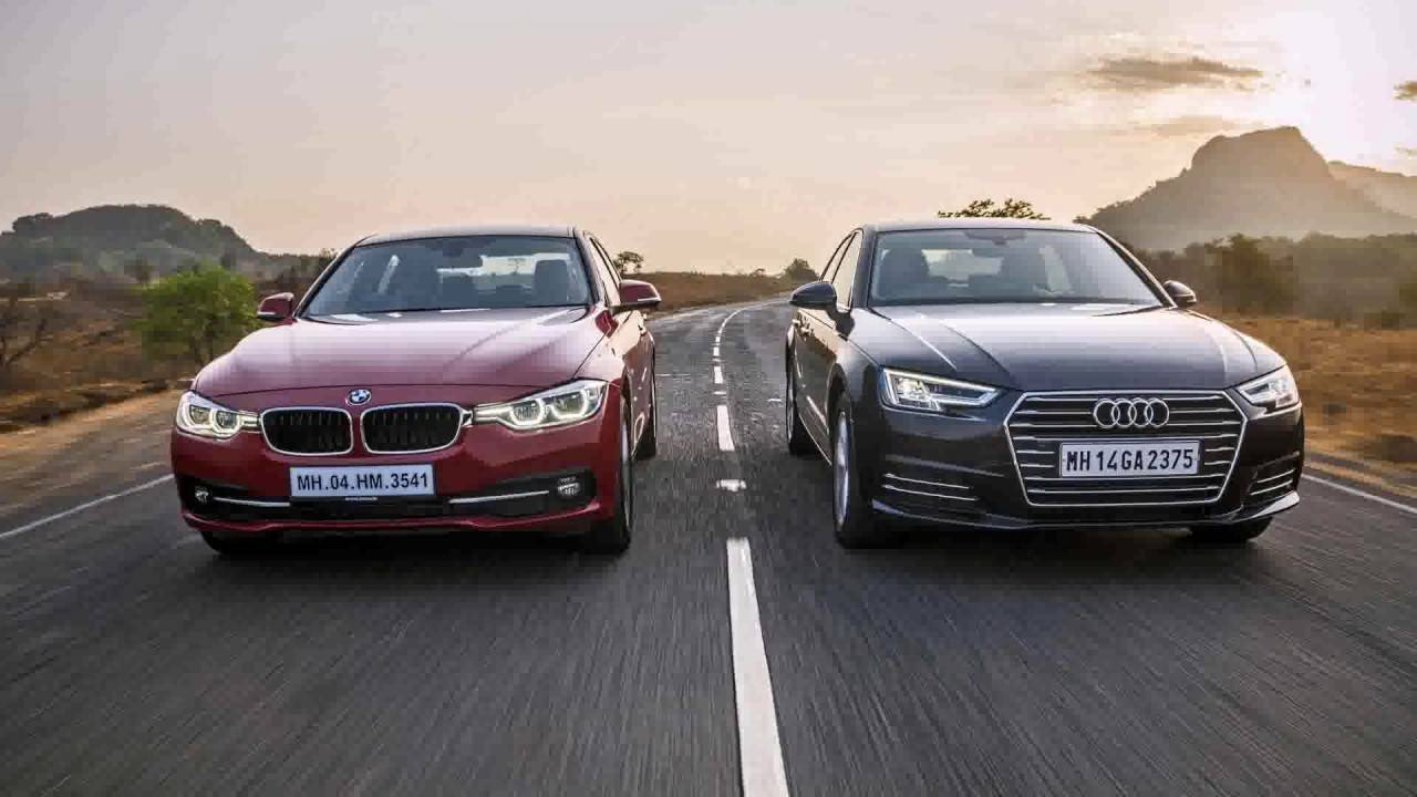 Спортсмены во фраках: Audi S8 II (рестайлинг) против BMW 7 серии V 750i (дорестайлинг)