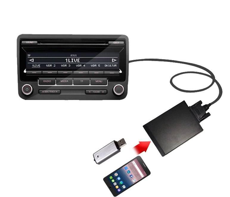Как подключить телефон к магнитоле: все доступные способы