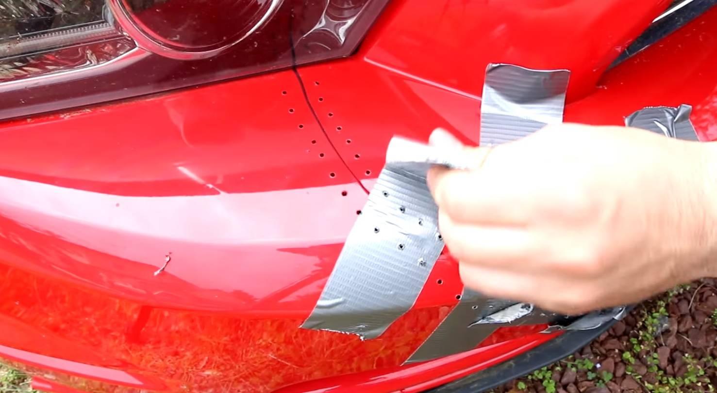 Трещина на бампере: ремонтировать, менять или продавать вместе с ней?