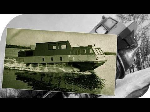 Шнеко-роторный вездеход зил – 4904