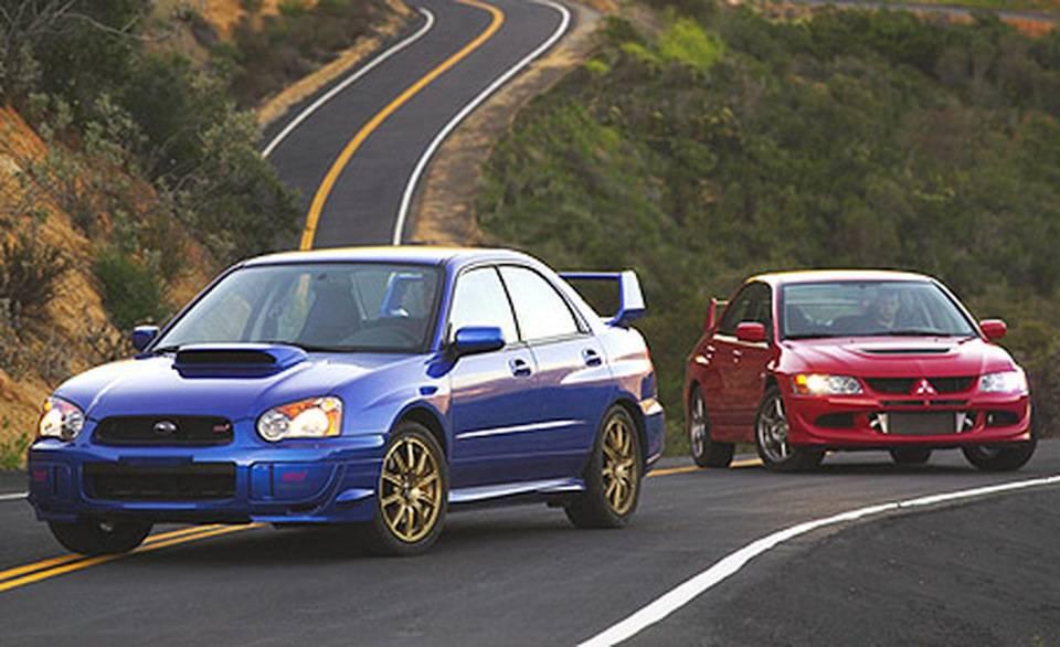 Что лучше: Subaru WRX STI или Mitsubishi Lancer Evolution