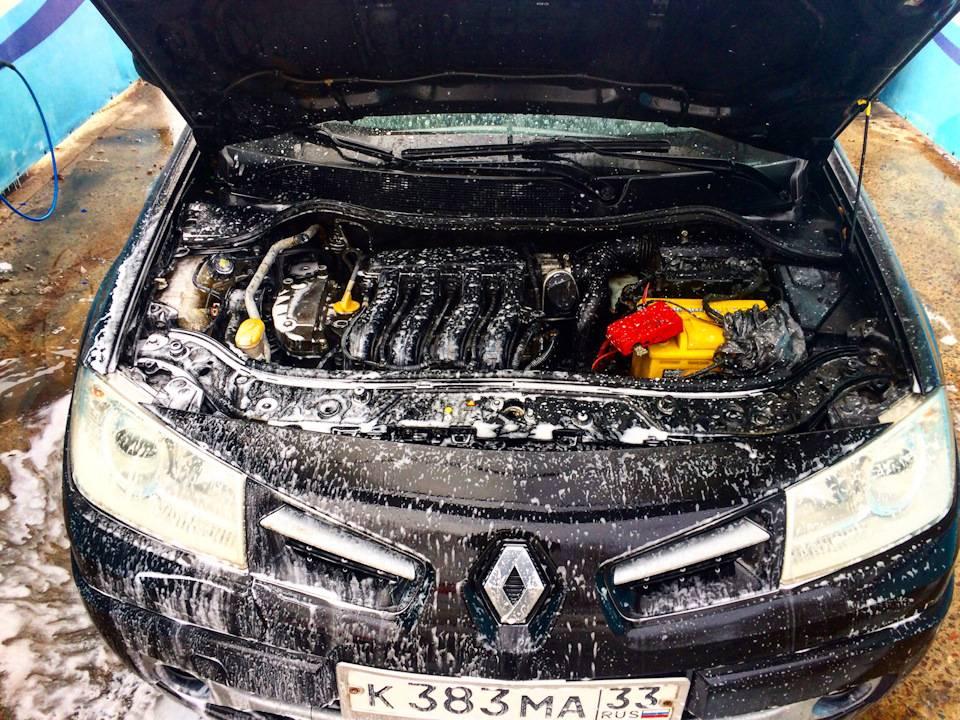 Как правильно мыть двигатель автомобиля керхером самому