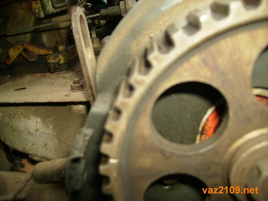 Замена ремня грм двигателя автомобиля ваз 2108, 2109, 21099