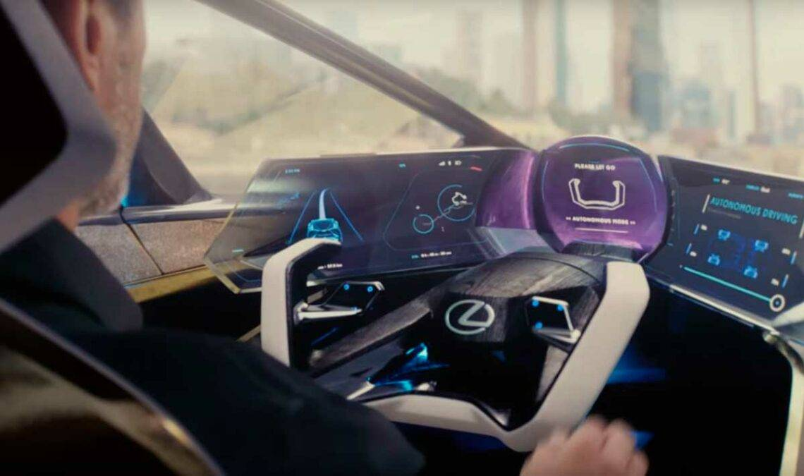 Концепткар lexus lf-z electrified с дизайном из будущего [видео] - 4pda