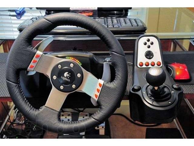 Как подключить руль с педалями к компьютеру