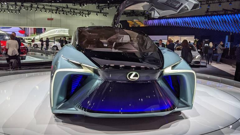 В токио продемонстрировали прототип lexus lf-30 ► последние новости