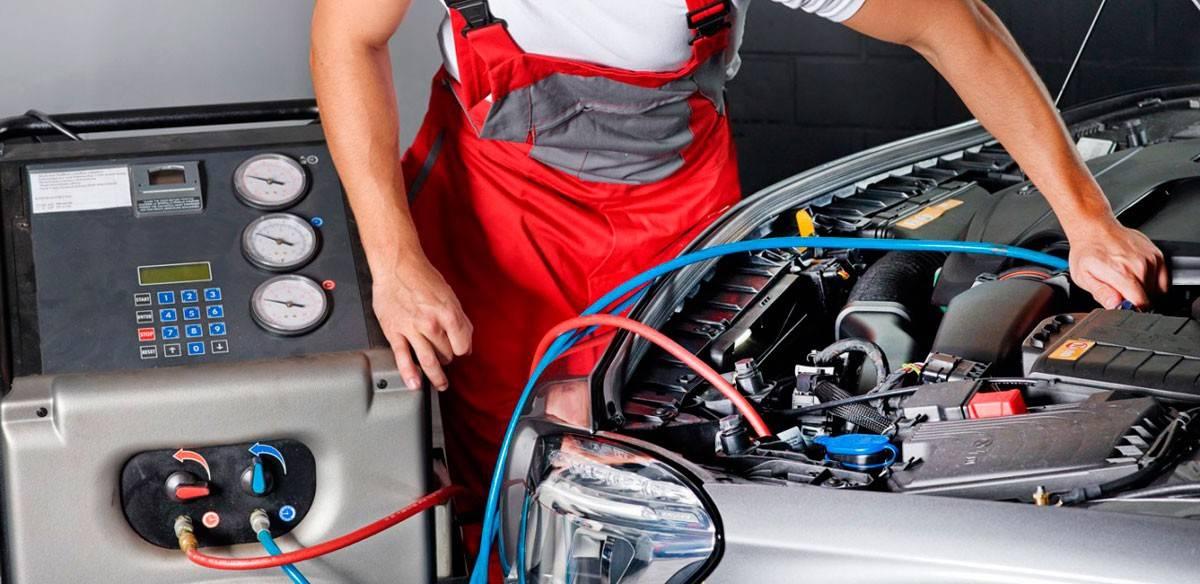Как заправить кондиционер в машине своими руками - пошаговая инструкция, как проверить, частота проведение процедуры