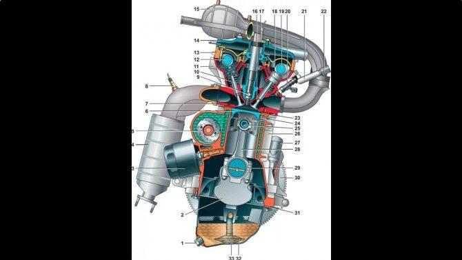 Новый восьмиклапанный двигатель 11182