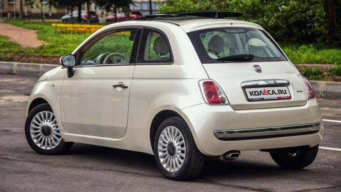 Тест-драйв fiat 500: for your eyes only - itc.ua