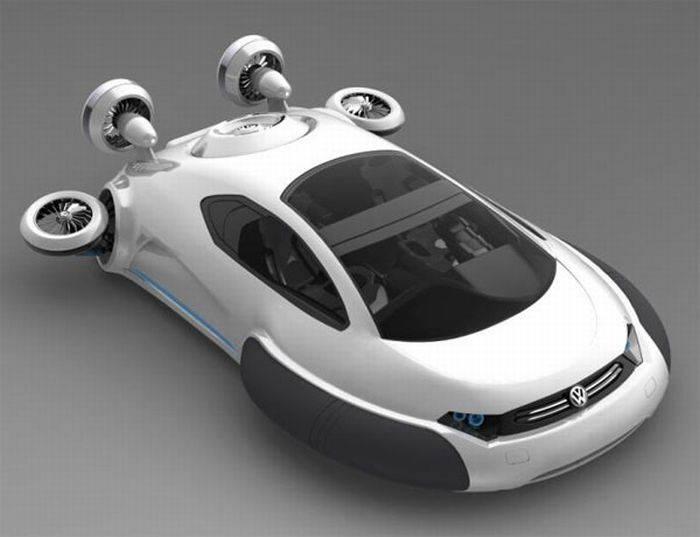 На работу без пробок: какое будущее ждет летающие автомобили | рбк тренды