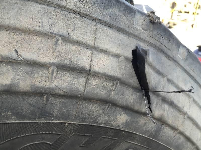 Боковой порез шины: можно ли ремонтировать