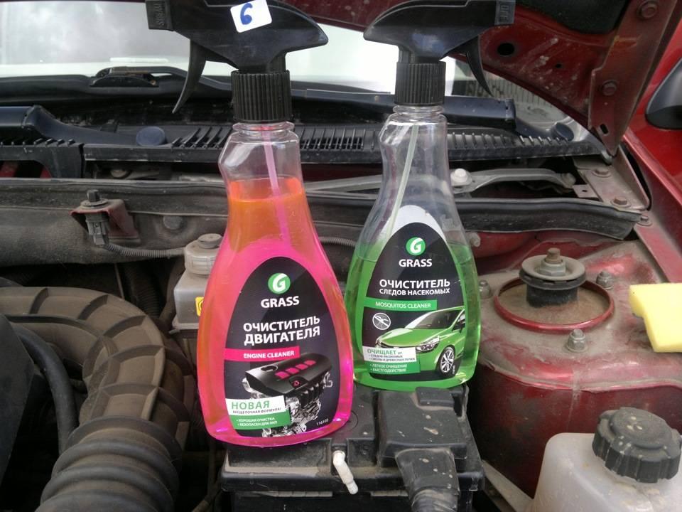 Пена для очистки двигателя и универсальные спецсредства: тестирование очистителей - автомобильный портал
