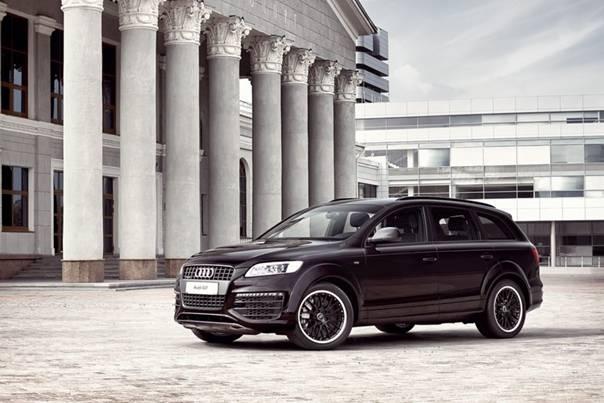 Audi q7 - полноприводной комфорт