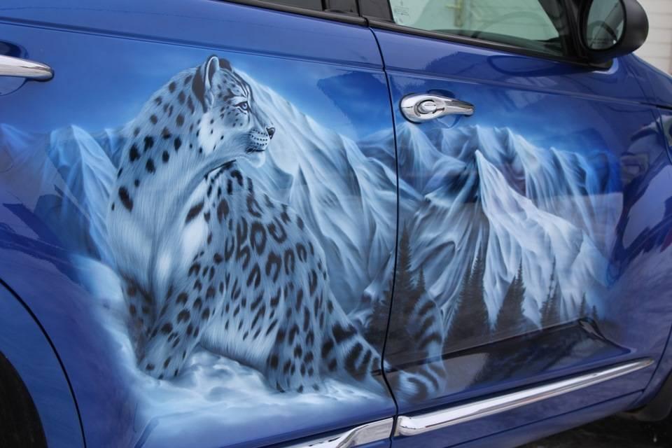 Художественная роспись авто. сколько стоит аэрография и стоит ли ее делать