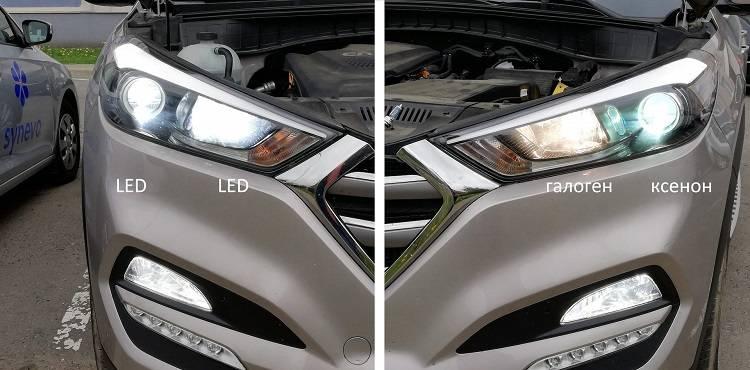 Что лучше ксенон или лед: обзор-сравнение ламп в авто