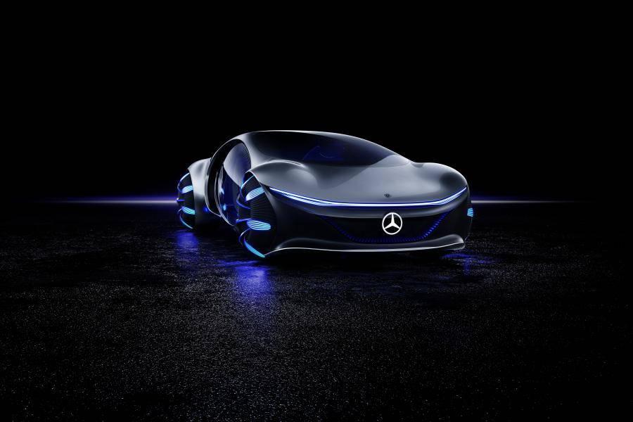 Mercedes vision maybach 6 cabriolet 2021 года — агрессивность и изящность