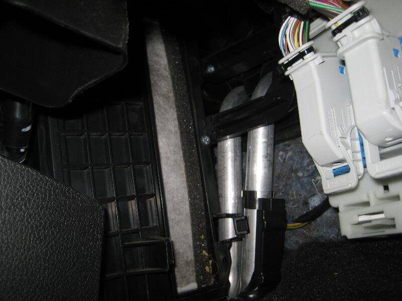 Замена салонного фильтра на ford focus 3