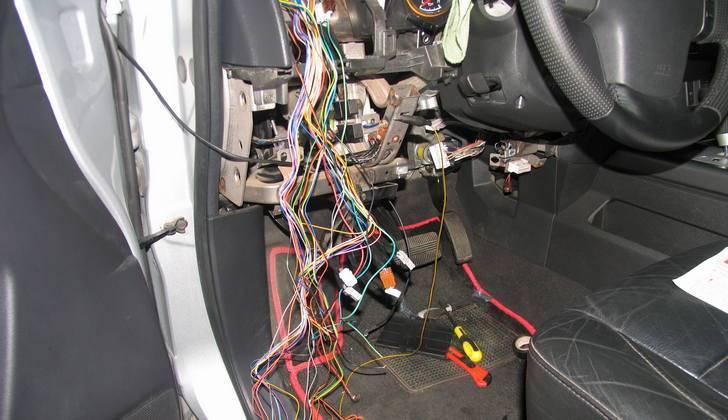 Отключение сигнализации на автомобиле