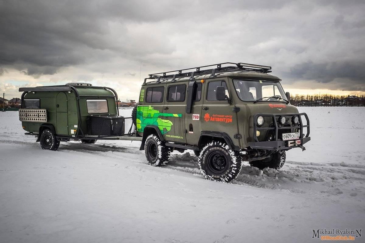 Надежные проходимцы: топ-6 авто для охоты и рыбалки