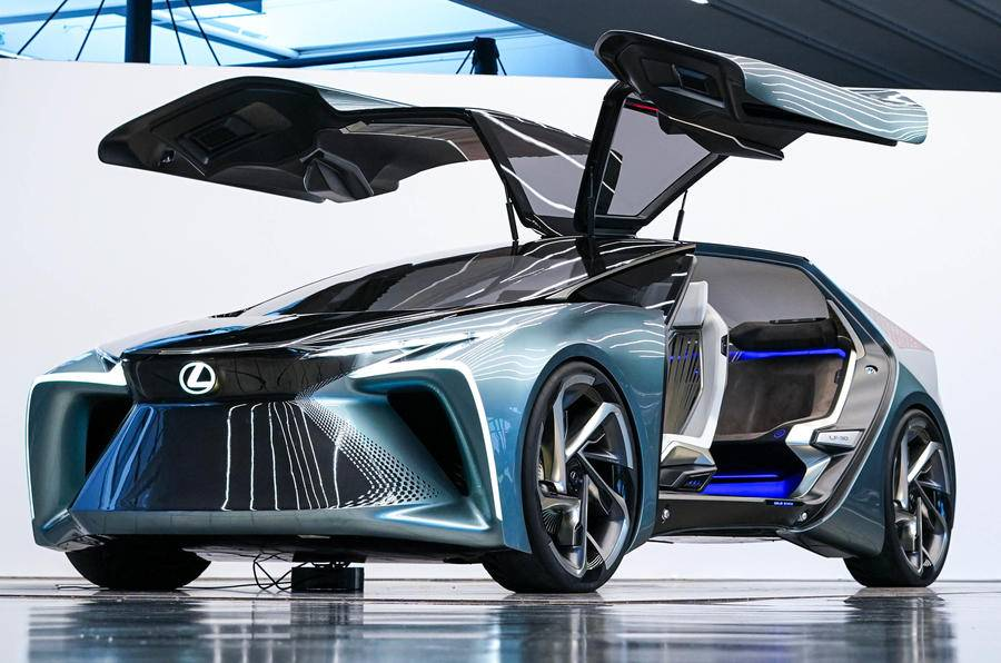 Lexus представил электрический концепт - журнал движок.