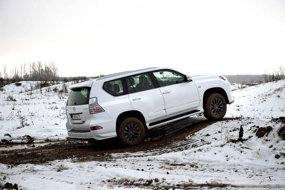 Lexus представил «вездеходную» версию внедорожника GX