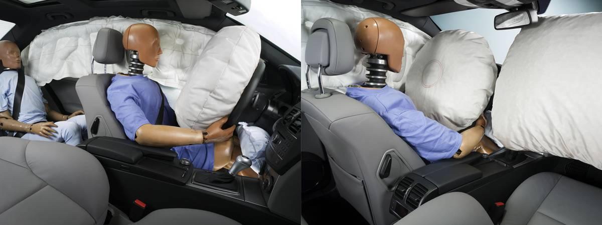 Когда стали устанавливать подушки безопасности