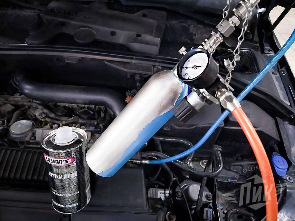 Промывка топливной системы дизельного двигателя, плюсы и минусы
