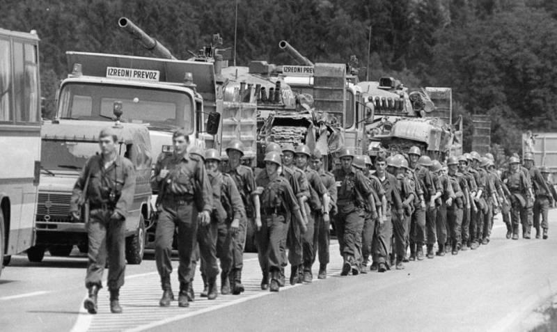 Страны бывшей югославии: история распада территории