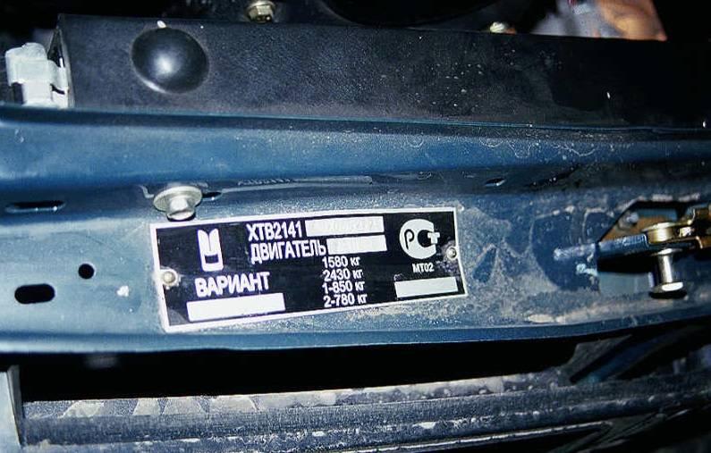 Проверка комплектации автомобиля по vin-коду