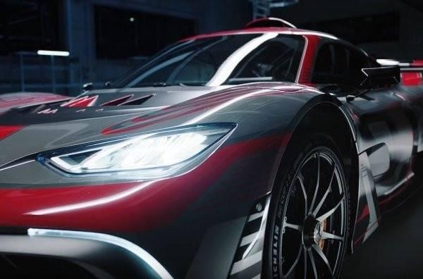 Компания mercedes показала новый гиперкар за 2,3 млн евро