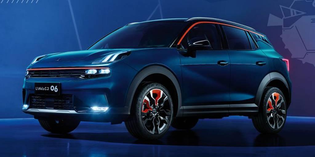 Geely и Volvo создали новый купе-кроссовер
