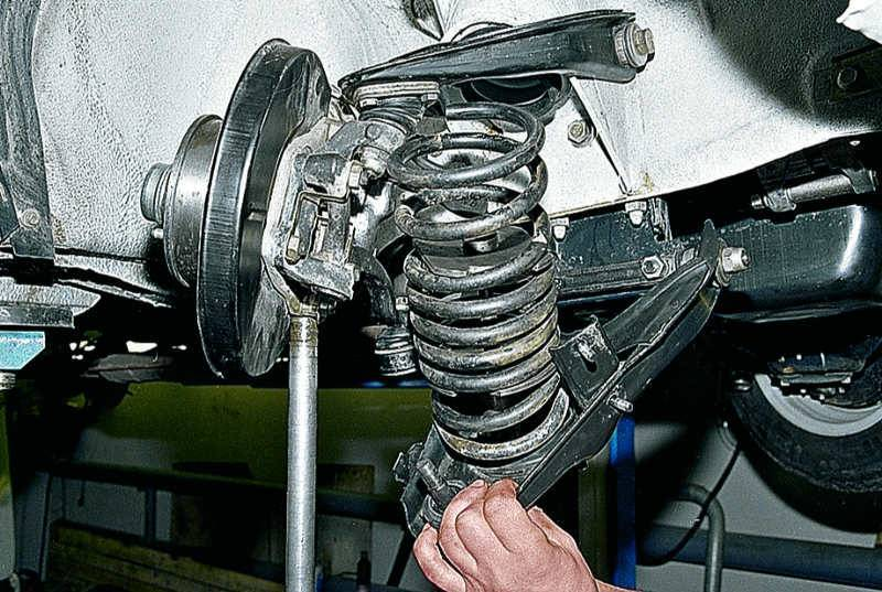 Подвеска ваз 2107 - конструкция, ремонт, тюнинг (фото,видео)