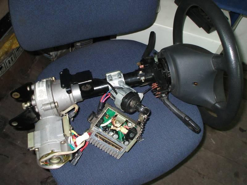 Рулевое управление с электроусилителем. возможен ли ремонт. основные практически недостатки электроусилителя