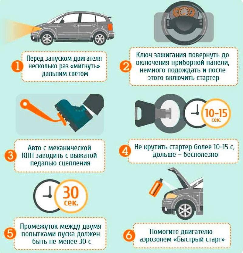 Как завести машину в мороз   auto-wiki