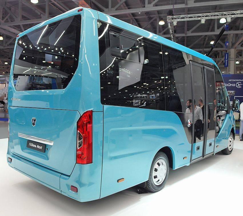 Газ сертифицировал микроавтобус «газель next» со сверхдлинной базой