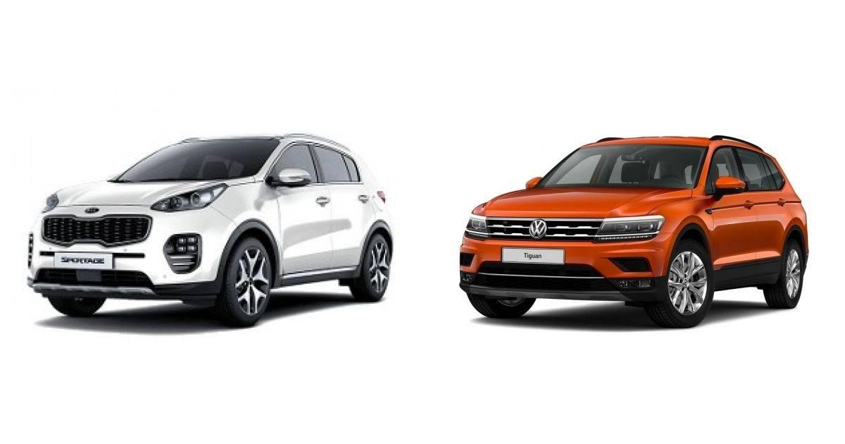 Что лучше: Volkswagen Tiguan или KIA Sportage