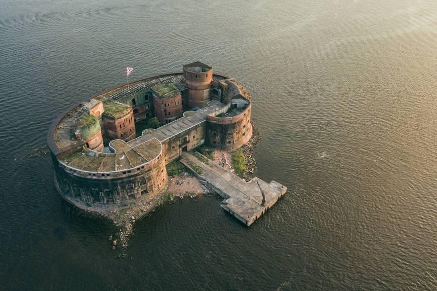 """""""остров фортов"""" в кронштадте: как добраться, что в нем есть, фото парка"""