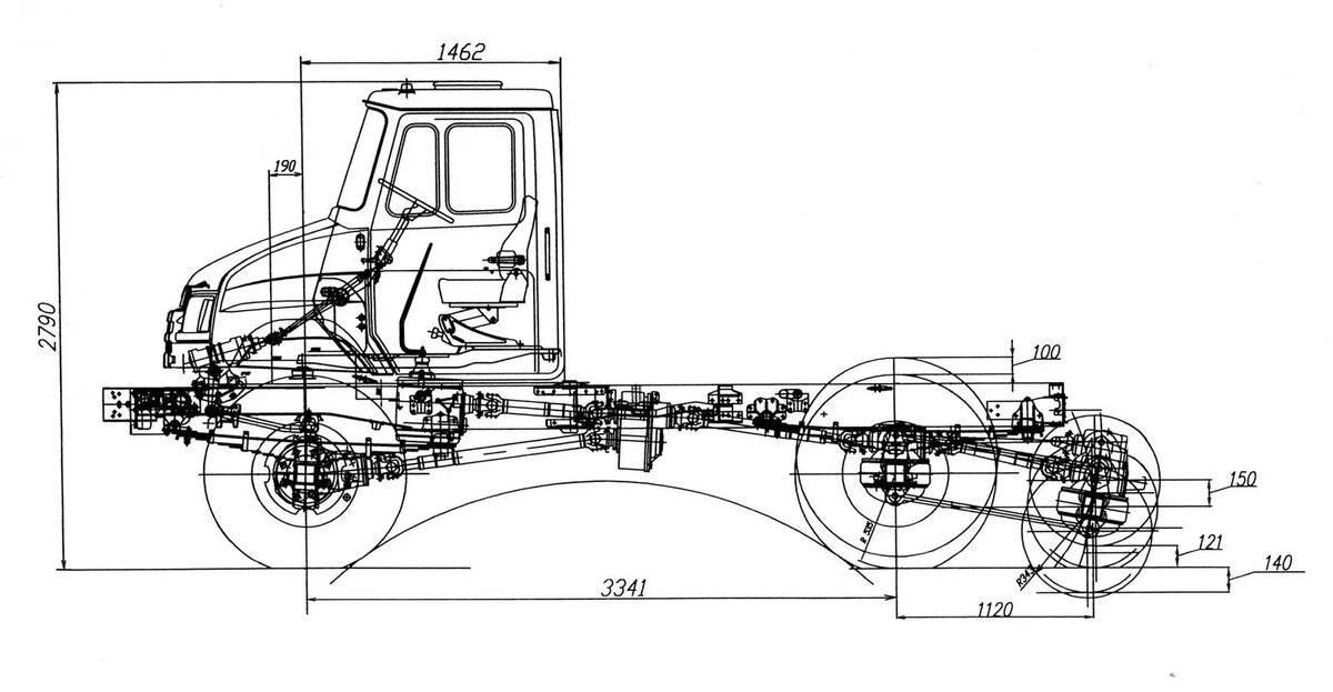 Зил 4334 технические характеристики, двигатель, устройство, цена, фото